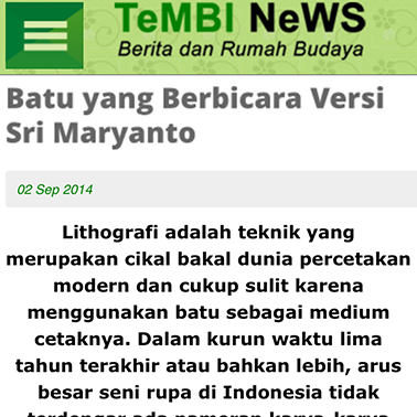 Sri Maryanto | Tembi News